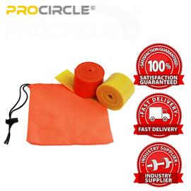 筋肉のためのProCircle抵抗ヨガストレッチフロスバンド