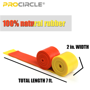 ProCircle Resistance Yoga Stretch Floss Band für Muskeln