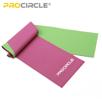 2019 Double Color Natural Latex Resistance Yoga Stretch Loop Band