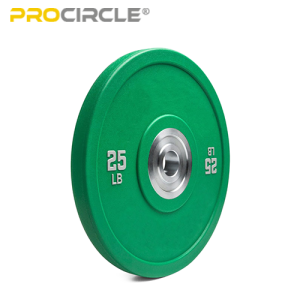 ProCircle Fitness Weight Lifting Training PU Hi Temp Barbell Bumper Plates Set for Sale