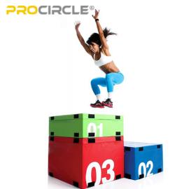 ジャンプトレーニングとコンディショニング用のソフトフォームPlyoボックスPlyometricボックス