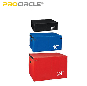 Soft Foam Plyo Box Plyometric Box for Jump Training and Conditioning for Sale