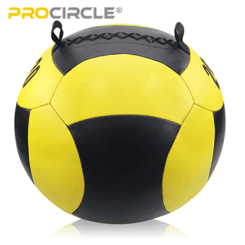 ProCircle High Density Squat Wall Ball PU Ball for Performance Training Workout