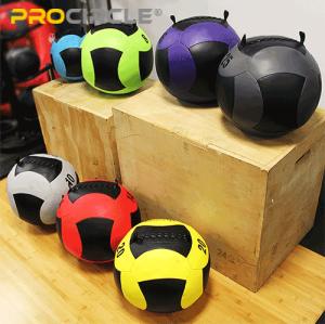 ProCircle Hochdichter Squat Wall Ball PU-Ball für Leistungstraining