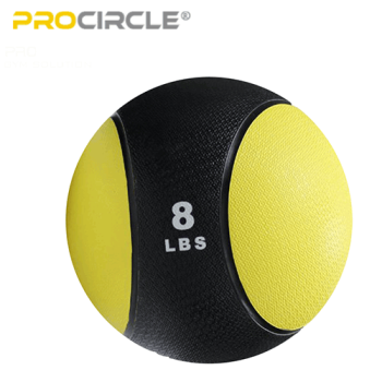 ProCircle Home Gym Equipment Training Rubber Weighted Ball Medicine Ball