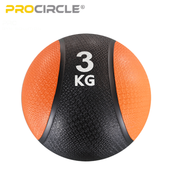 ProCircle Sturdy Medicine Ball Slam Ball 12 LBS 8LBS Cardio Exercise Workout
