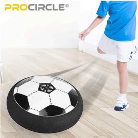 2019 ProCircleライト付きエアホバーサッカーボールセットおもちゃ子供のため