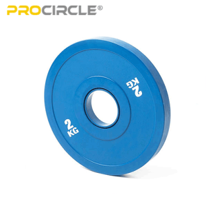 ProCircle Weight Loss Stack Bumper Plates Home Gym
