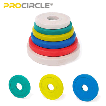 ProCircle Weight Loss Stack Parachoques Placas Home Gym