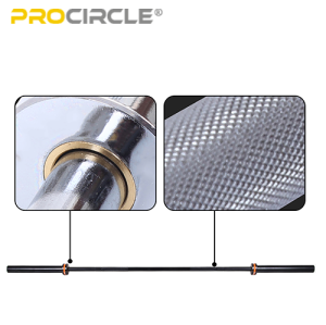 ProCircle 45LB Olympic Weight Bar Set for Man Weightlifting Workout