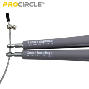 ProCircle PVC Speed Cable Rope Springseil - Grau