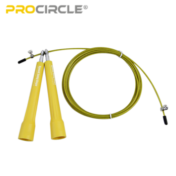 ProCircle PVC Cable Rope Jump Rope Cardio Exercise-Yellow