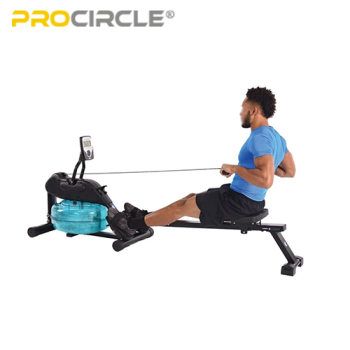ProCircle Water Rowing Machine Workout Customized Seated Water Rower for Sale