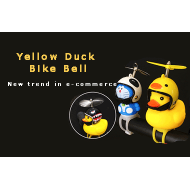 2019 New Trend in E-Commerce Business Marketing-Yellow Duck Bike Bell