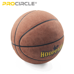 Großhandel Basketball Weiche Mikrofaser Leder Basketball NBA Qualität