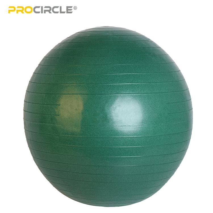 緑のヨガボール