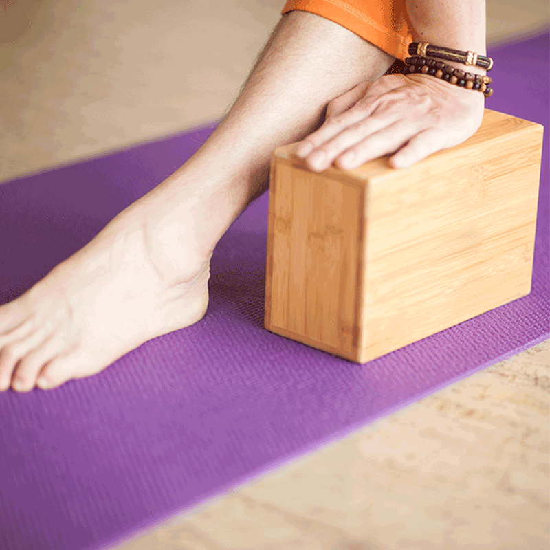 Bambus Yoga Block