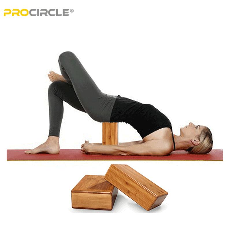 utilisation du bloc de yoga