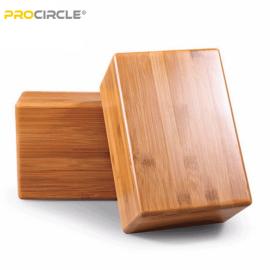 ProCircle木製竹ヨガブロック販売用高密度バルク
