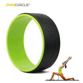 Roue de yoga ProCircle en gros pour matériel TPU pour exercices Yogi