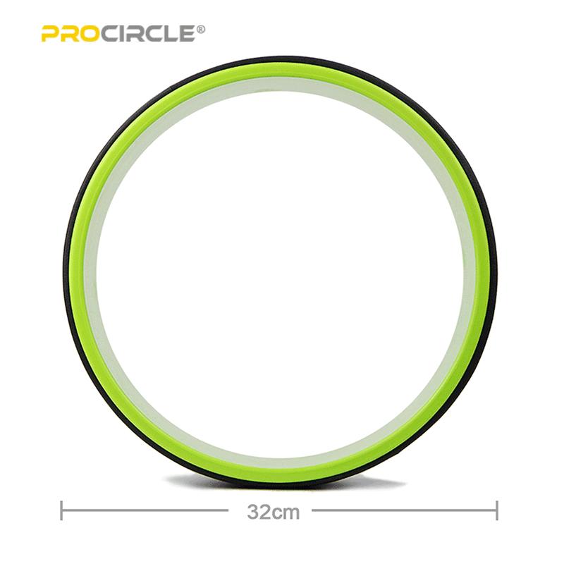 taille de la roue de yoga