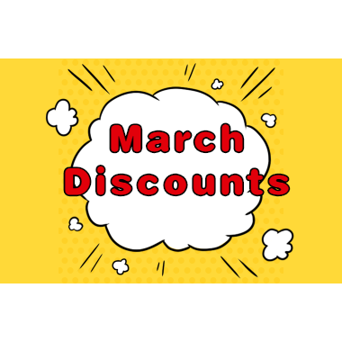 *MARCH Comes Some #SEASON DISCOUNT from ProCircle Fitness