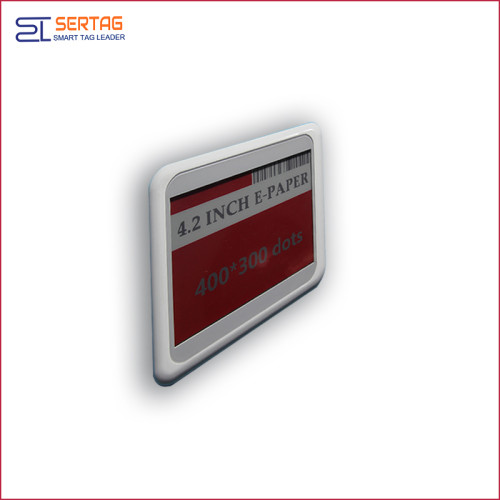 4.2inch bluetooth esl  supermarket digital shelf label digital  price tags