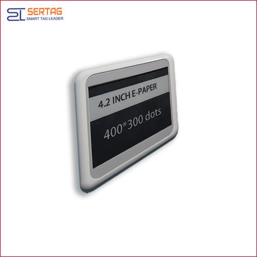 4.2inch bluetooth esl supermarket digital shelf labels digital price tags