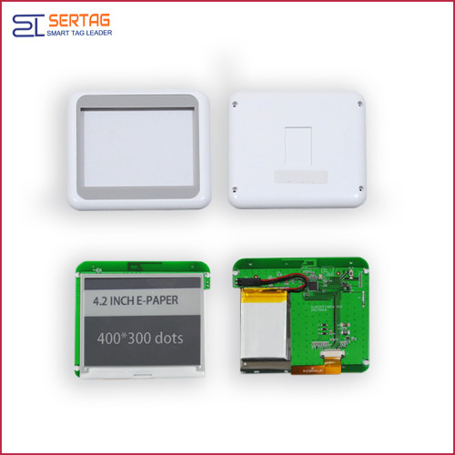 4.2 inch bluetooth 2.4G ESL electronic shelf  label without paper
