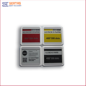 4.2 inch full colors wireless transmission esl e-ink  2.4g epaper esl