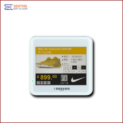 4.2 inch  digital price tag E-ink Electronic Shelf Label with black   white  and yellow  for retail