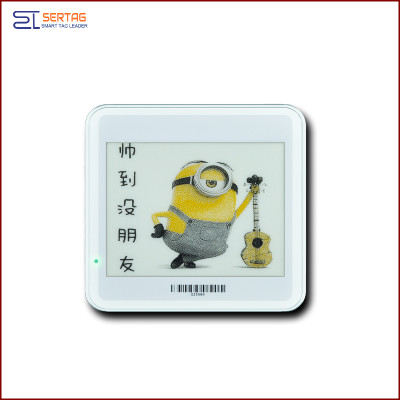 4.2 inch  digital price tag E-ink Electronic Shelf Label with black   white  and yellow  for healthcare
