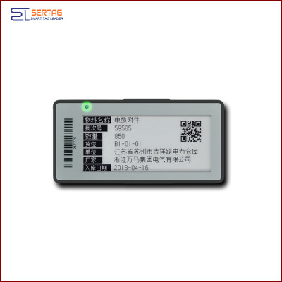 2.9 inch  smart tag  digital  price tag  Electronic Shelf Label   for warehousing