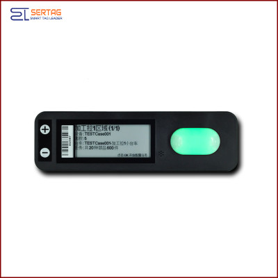 2.9 inch PLT picking digital  price tag  Electronic Shelf Label   with button for warehousing