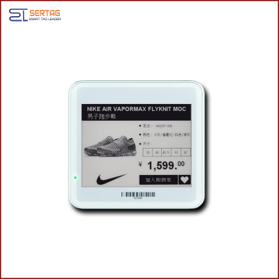 4.2 inch  digital price tag E-ink Electronic Shelf Label with black   and white