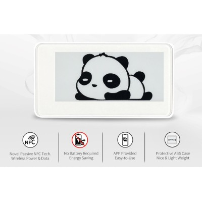 Sertag 2.9 inch NFC electronic shelf labels without  battery