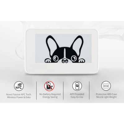 Sertag 2.13 inch NFC electronic shelf labels without  battery
