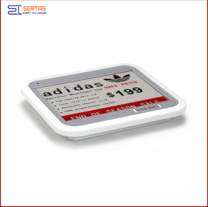 4.2  inch 2.4G wireless   digital price tag E-ink Electronic Shelf Label with black   white and red