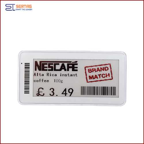 2.9 inch 2.4G Esl Electronic Shelf Labels Digital Price Tags  For Grocery Stores