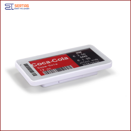 2.9inch 2.4G bluetooth  digital price tag E-ink Electronic Shelf Label