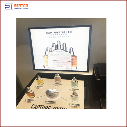 22inch Digital Signage Stretched LCD Square Display Shelf Edge Display for Supermarket Advertising