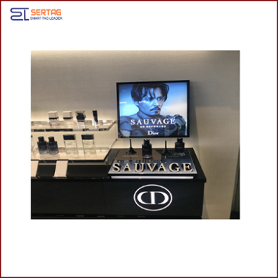 33.2inch Digital Signage Stretched LCD Square Display Shelf Edge Display for Supermarket Advertising