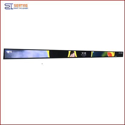 47 inch Digital Signage Stretched LCD Bar Display Shelf Edge LCD Display for Supermarket Advertising