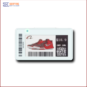 4.2 inch  digital price tag E-ink Electronic Shelf Label with black   white  and red