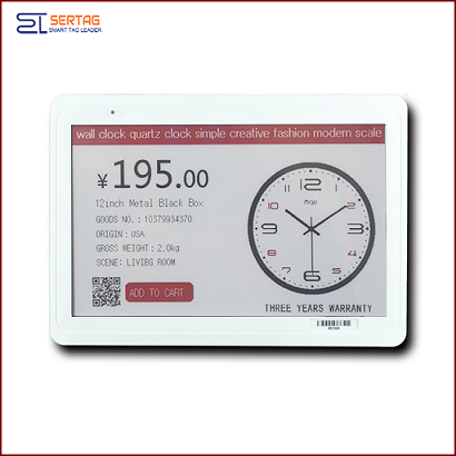 7.5 inch  Large Eink Digital Display Price Label Digital Price Tags For Meeting Room