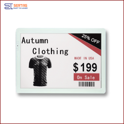 12.50 inch  digital price tag E-ink Electronic Shelf Label with black white and red    for retail