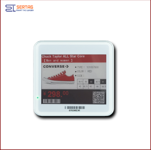 4.2 inch bluetooth e-ink  esl  electronic shelf label  digital price tags for healthcare