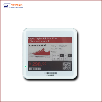 4.2 inch  digital price tag E-ink Electronic Shelf Label with black   white  and red  for retail