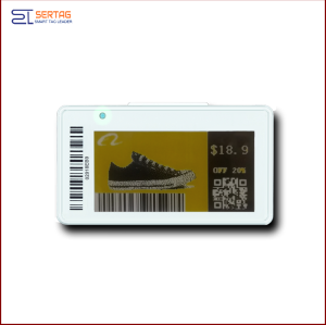 2.13inch low  temperature digital price tag E-ink Electronic Shelf Label for retail