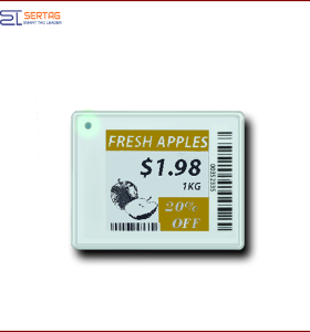 1.54inch low power digital price tag E-ink Electronic Shelf Label smart retail labels